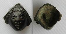 Piccolo Roman Bronze APPLIQUE BUSTO 2 / 3 ° secolo