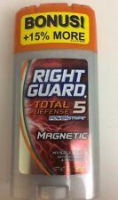(1)Right Guard Total Defense 5 Power Stripe Antiperspirant Deodorant MAGNETIC