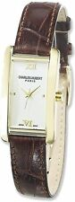 Ladies Charles Hubert Leather Band Cream Dial 21x30mm Watch