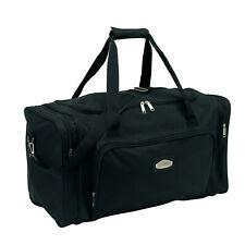 Sporttasche 58x28x33cm Reisetasche schwarz Umhängetasche 950Gr Fitnesstasche
