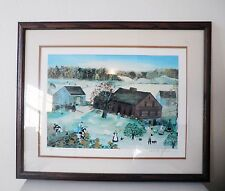 'Cows Are Out' by Will Moses Signed Limited Edition Framed Farm Art