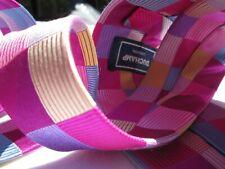 Duchamp hand made woven silk tie