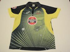 Cricket Australia Jersey by Asics Carlton Mid Size Men Medium Kangaroos