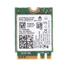 For Intel Wireless-N 7265 7265NGW BN Dual Band Bluetooth 4.0 2x2 Wi-Fi WiFi Card