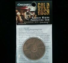 Rare Discovery Channel GOLD RUSH Gold Nugget Coin Signed By Todd Hoffman