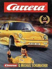 Carrera & Michael Schumacher Prospekt 1994 D brochure prospectus Katalog catalog