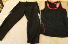 Karrimor ladies sports running gear active wear top crop shorts leggings