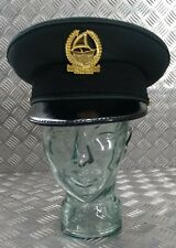 Genuine Dubai Issue Major LT Col Officers Dress Cap With Insignia Size 60cm