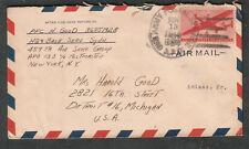 1946 cover Pfc H Good 459th Air Serv Gp APO 133/804 Camp San Francisco Reims