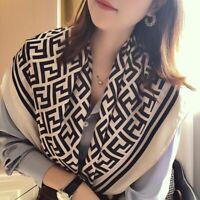 90cm Soft Feel Elegant Square Scarves Shawl Wrap For Women For Women's Gift OL