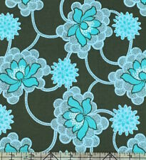 Amy Butler Daisy Chain Clematis Forest Fabric BHY