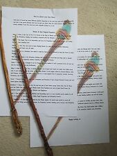 😃HOW TO CHOOSE YOUR WAND AND THE WOODS WITH THEIR MAGICAL PROPERTIES 2 PAGES