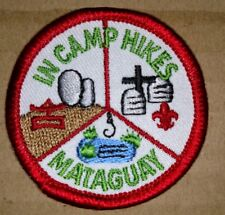 Vintage Mataguay In Camp Hike Embroidered Boy Scout Patch