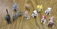 70 Cat and Dog Figures FREE Shipping  less than 25 cents each