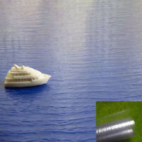 SM01 1pcs WATER SHEETS realistic clear moulded 1*0.5m