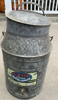 Vintage Gott Metal Water cooler 3 Gallons