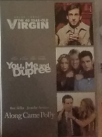The 40 Year-old Virgin, You m and Dupree , ALong came Polly DVD R4 (3 disc set)