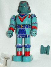 "JOHNNY SOCKOs GIANT ROBOT Billiken 9""TIN WIND UP WALKNG JAPANmade1990's NEWinBOX"