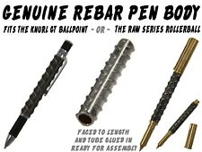One Rebar Pen Body Blank #142 / Fits the Knurl GT Ballpoint -OR- Raw Rollerball