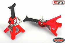 Chubby Mini 3 TON Scale Jack Stands metal axle support RC car display repair TOY