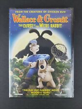 Wallace and Gromit The Curse of the Were-Rabbit 2005 New Full Frame Dvd