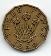 Great Britain - Engeland - 3 Pence 1950