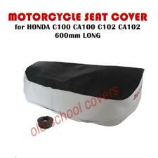 MOTORCYCLE SEAT COVER will fit C100 CA100 C102 CA102 TWO TONE  600mm long