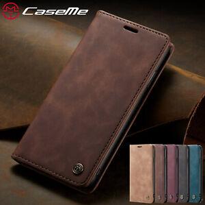 Case Coque iPhone 12 Pro Max XS 11 6 7 8 Plus 5s SE Flip Portefeuille Cuir Étui