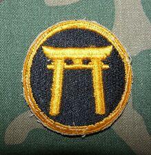 Original WW2 era US Army Ryukyus Command Cut Edge Shoulder Patch - no glow