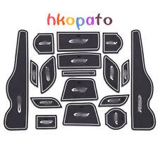 17PCS Non-Slip Interior Door Mat Cup Pads Holder For Honda CRV CR-V 2015 2016