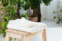 Linen Flat Sheet White Natural Gray Brown Rose color King Queen Twin Full sizes