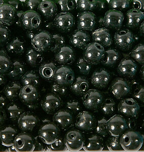 Pack of 50 x 8mm Glass Beads for Jewellery Making (B8mm)