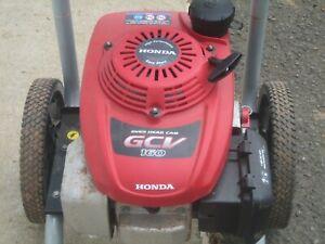 Honda GCV-160 Engine RUNS GREAT Pressure Washer