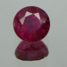 4.1 MM Natural AFRICA RUBY ROUND 1 Piece Loose Stone