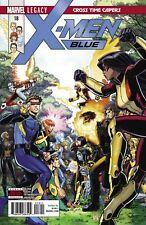 X-Men Blue #18 Comic 2018 - Marvel Comics 1st Print - Mutant Cyclops Iceman
