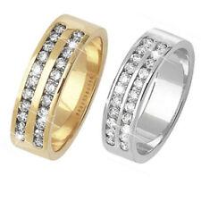 Anillos de joyería con diamantes en oro amarillo I1