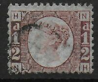 SG48. 1/2d.Rose-Red Plate14. An Extremely Fine Used Example.  Ref:03174