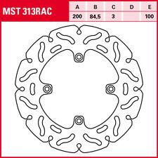TRW Disque de frein arrière RAC DESIGN mst386rac avec ABE