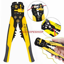 Self-Adjustable Automatic Cable Wire Crimper Crimping Tool Stripper Plier Cutter