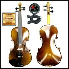Violin Francesco Cervini 3/4 SV-2 Outfit Case Bow Snark SN-5 D'addario Pro Arte