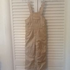 Gap Toddler 3 Yrs Water Resistant Fleece Lined Overall Pants Full Zippers