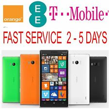 UK EE TMOBILE Nokia Lumia 520 530 625 635 640 720 735 925 930 1520 Unlock Code