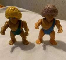 Vintage 1987 Playskool Definitely Dinosaurs Caveman Figures
