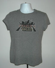 WOMENS CHARLIES ANGELS T SHIRT LARGE SABRINA JILL KELLY SEXY PRIVATE EYES