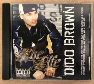 Dido Brown - The Life CD (2004, Bonafide Musik) 1st Press, OOP, West Coast Rap