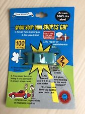 Toy Car - Grow Your Own Sports car. Diabolical Gift People Red NIP New