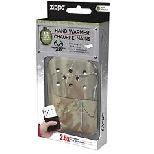 Realtree Zippo Refillable Deluxe Hand Warmer with Fill Cup & Warming Bag