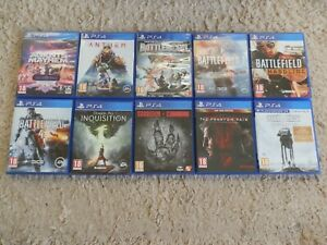 Joblot of 10 PS4 Fighting games, Preowned and in Good Condition
