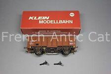 U351 KLEIN modellbahn train Ho SNCB 3281 Wagon toit coulissant Rolldachwagen
