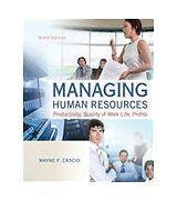Managing Human Resources by Wayne Cascio (2012, Hardcover)
